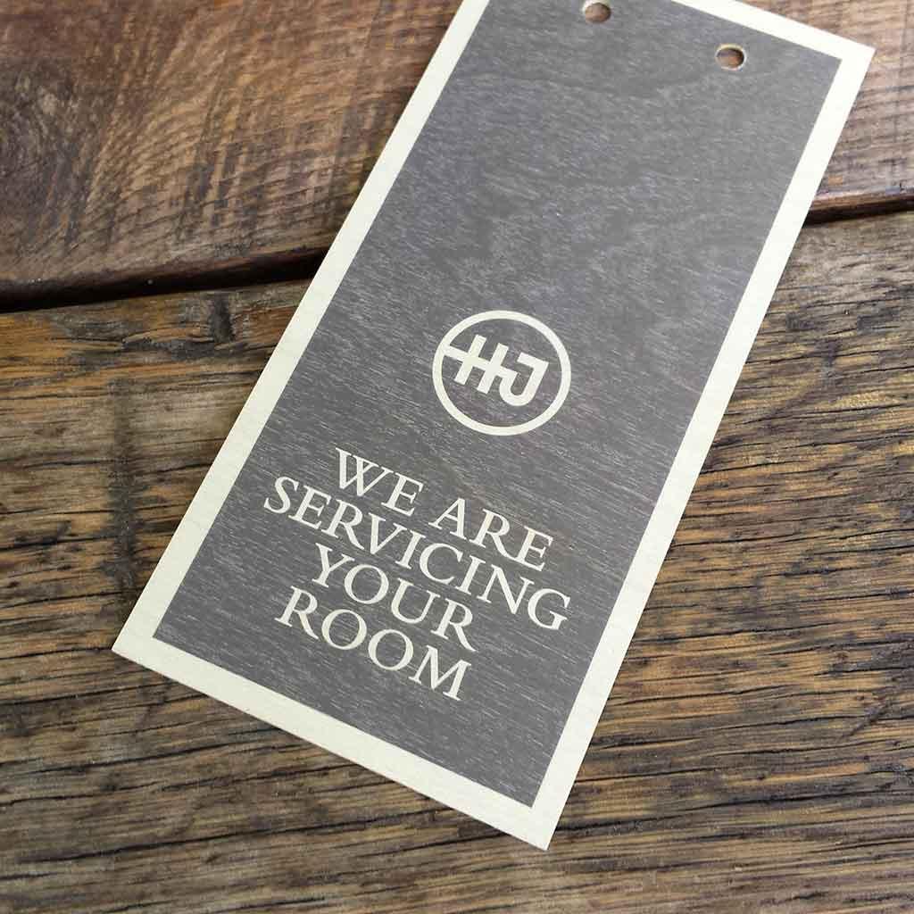 door-hanger birch wood veneer