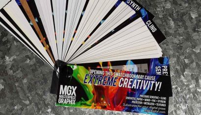 Masterpiece Graphix Introduces New Swatchbook of Specialty Substrates for Digital Printing